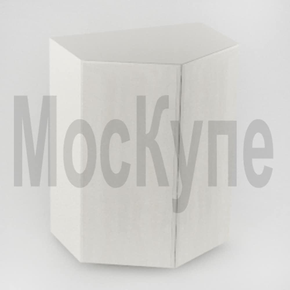 распашной трапециевидный шкаф купе
