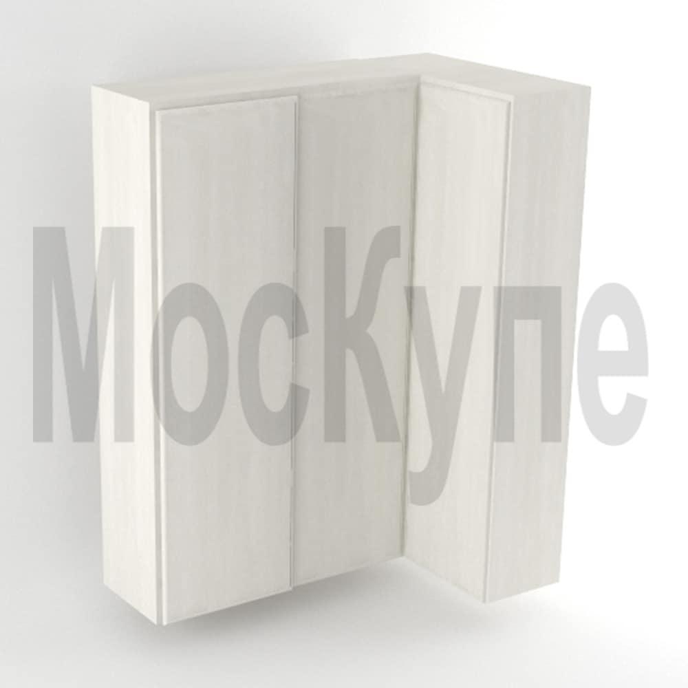 корпусный шкаф купе угловой с прямым соединением