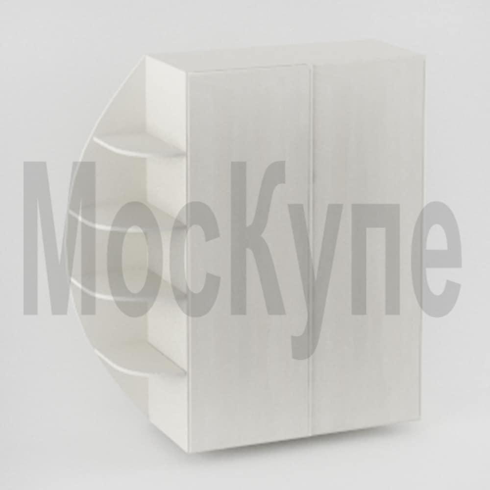 шкаф купе с закругленным элементом
